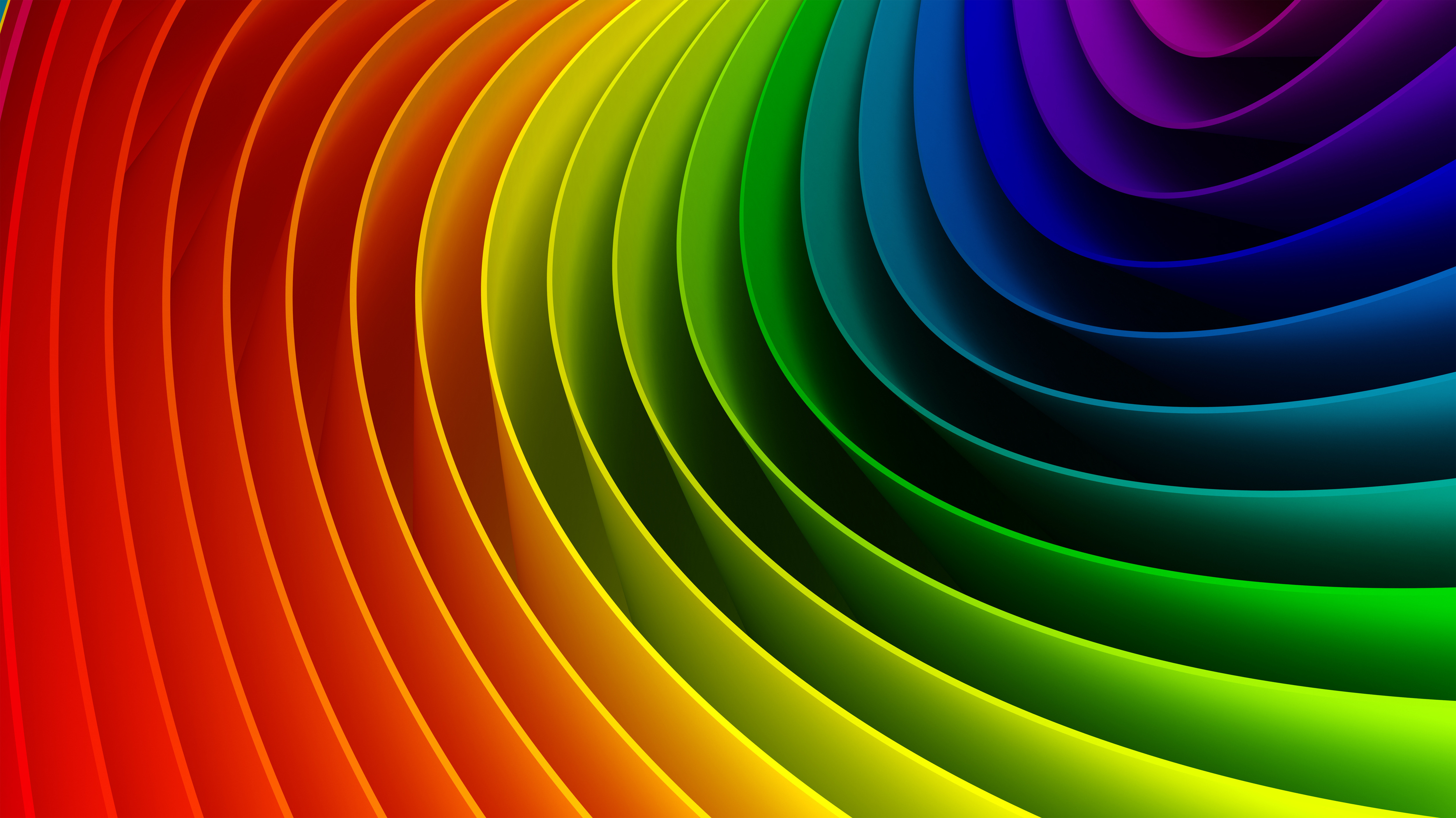 Il significato dei colori visione alchemica visione - Arcobaleno a colori e stampa ...