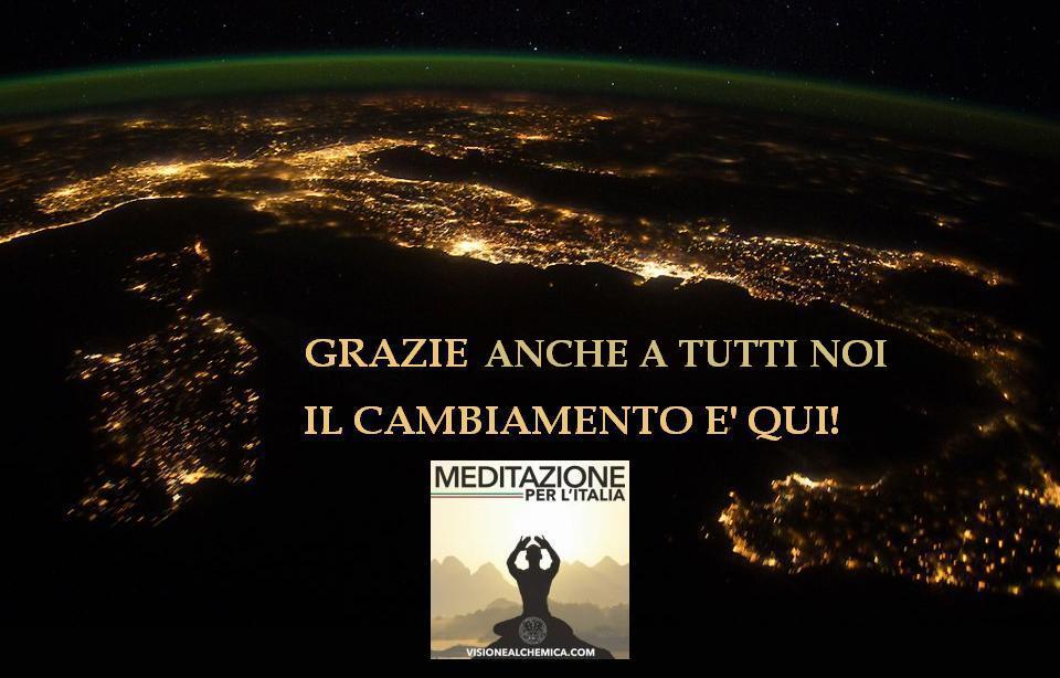 italia di notte grazie