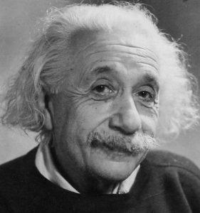 Albert-Einstein-sguardo-sereno