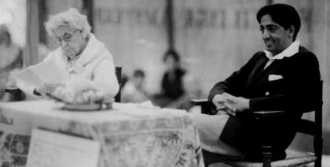 Annie Besant e Krishnamurti