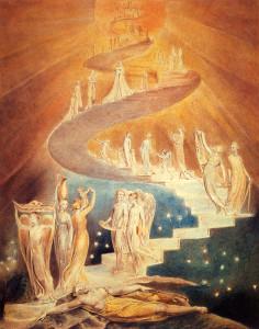 William-Blake-Scala-di-Giacobbe-La-Scala-Meravigliosa-V.M.-Samael-Aun-Weor-Psicologia-Rivoluzionaria