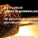 CORSO DI NUMEROLOGIA 5 E 6 LUGLIO
