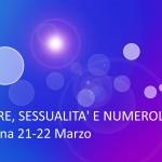 AMORE, SESSUALITA' E NUMEROLOGIA – 1° e 2° Livello