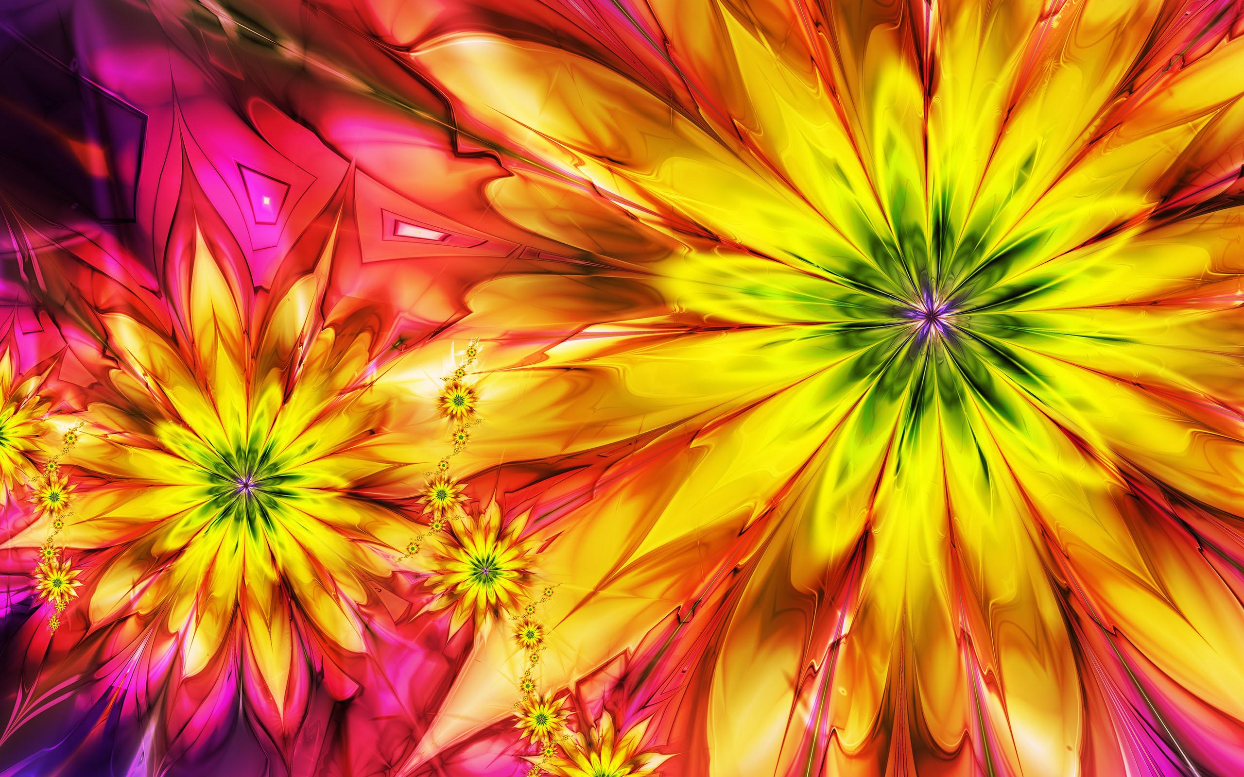 La primavera e i fiori come archetipi visione alchemica for Fiori stilizzati colorati