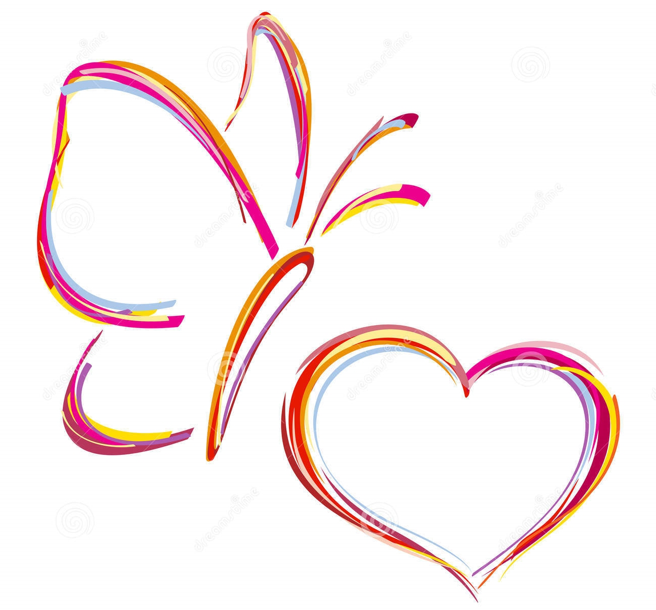 painted-heart-butterfly-vector-35537899