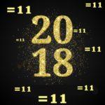 2018 ANNO DELL'11, IL GENIO, IL LAMPO E LA LUCE!